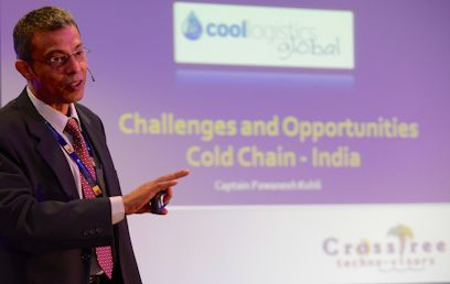 Pawanexh Kohli: Cool Logistics Conference Antwerp